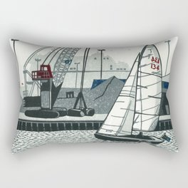 Poole Quay Rectangular Pillow