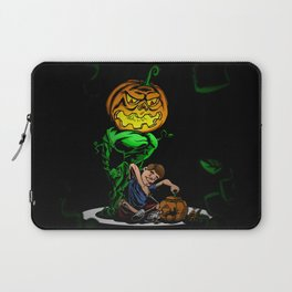 Pumpkin Head Laptop Sleeve