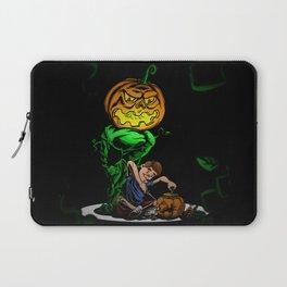 Pumpkin Head Laptop Sleeve