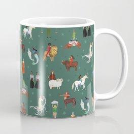 Warrior Women of the Zodiac Coffee Mug
