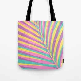 Bright Tropical Palm Tote Bag
