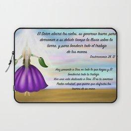 Flor del cielo - Deuteronomio 28, 12 Laptop Sleeve