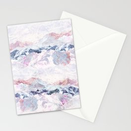 Painted Rockies Stationery Cards