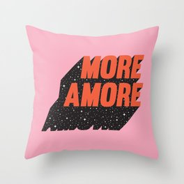 More Amore Throw Pillow
