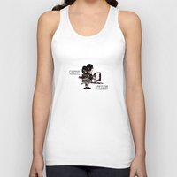 cinema Tank Tops featuring cinema passion by fscVisuals