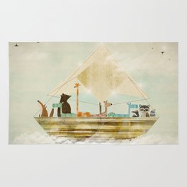 sky sailers Rug
