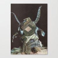 baphomet Canvas Prints featuring Baphomet by Nicholas Lockyer