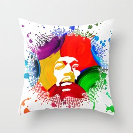 JIMI0402_water color Throw Pillow