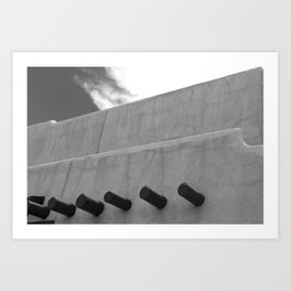 Shapes of Adobe Architecture Art Print