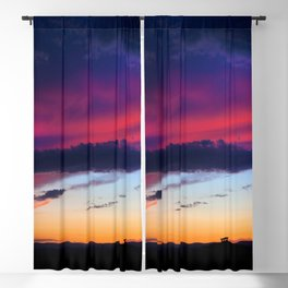 Stormy Sunset Blackout Curtain