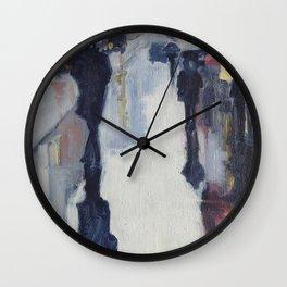 L'infini trottoir Wall Clock