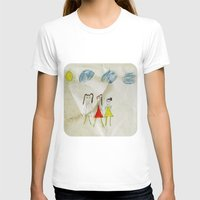 sisters T-shirts featuring Sisters?  by Ethna Gillespie
