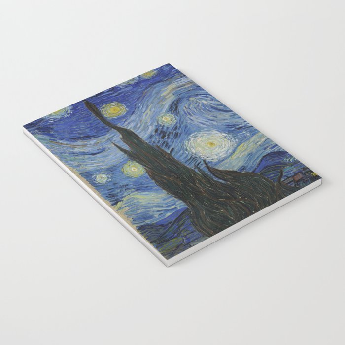 The Starry Night by Vincent van Gogh Notebook