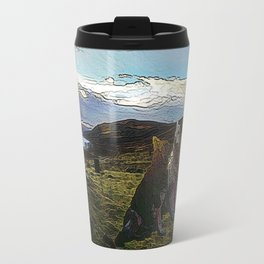 Sheba and Storm 02 Acrylic Travel Mug