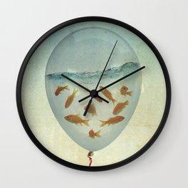 balloon fish 03 Wall Clock
