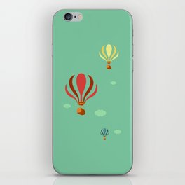 Hot Air Balloon Ride iPhone Skin