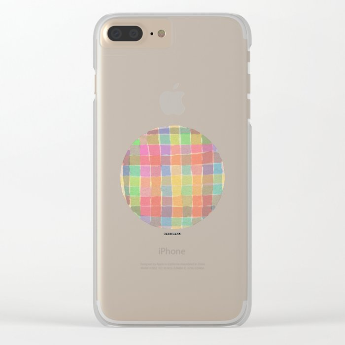 - the table - Clear iPhone Case