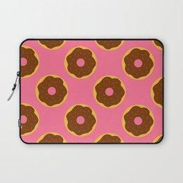 Donut Pattern Laptop Sleeve