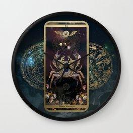 Zodiac : Cancer Wall Clock