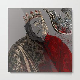 """""""The Accursed Kings"""" Metal Print"""