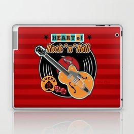 Heart of Rock 'n Roll Laptop & iPad Skin