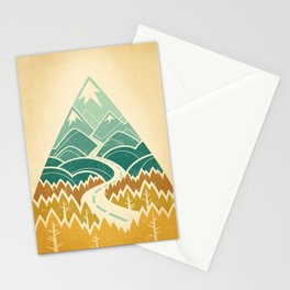 The Road Goes Ever On: Autumn Stationery Cards