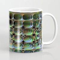 honeycomb Mugs featuring Honeycomb by Lyle Hatch