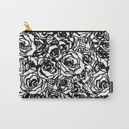 painting the roses  Carry-All Pouch