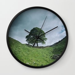 Back to Sycamore Gap Wall Clock