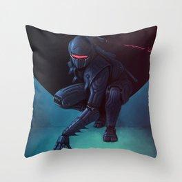 Ninjadroid Throw Pillow