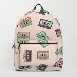 Another story (light cassette pattern) Backpack