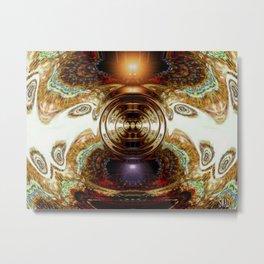 Dashing Circlette Metal Print
