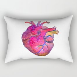 ALTERED Anatomical Heart Rectangular Pillow