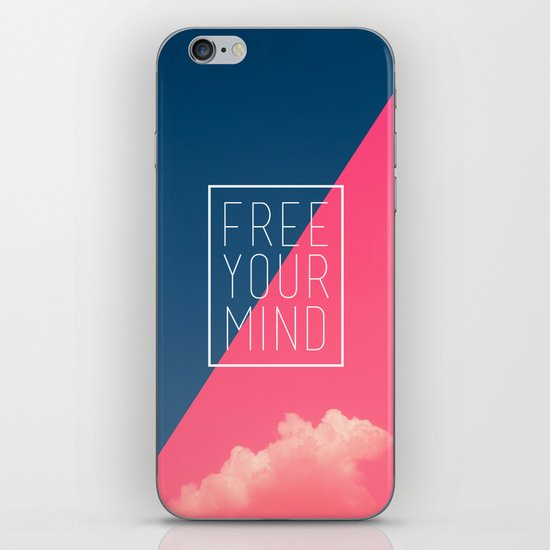 Free Your Mind III iPhone Skin