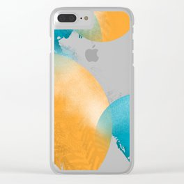 frosted ornaments Clear iPhone Case