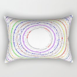 Genome Circles 2 Rectangular Pillow