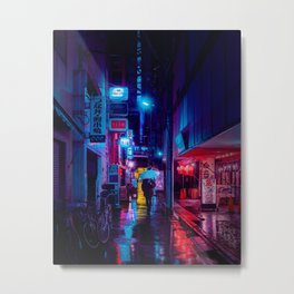 Tokyo Nights / Minutes To Midnight / Liam Wong Metal Print