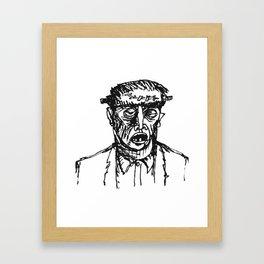 Fwankenstime's Monster Framed Art Print