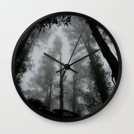 THROUGHT THE NATURE Wall Clock