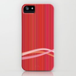 Strawberry Waves iPhone Case