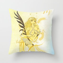 VIRGO / SPICA Throw Pillow