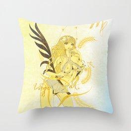 VIRGO / SPICA Throw Pillow