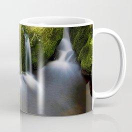 Long Exposure Water on Rocks Coffee Mug