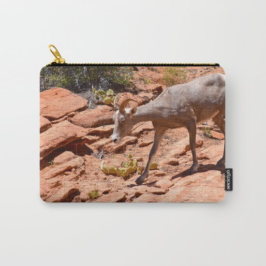 Desert Bighorn Sheep II - Zion Carry-All Pouch