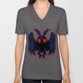 Mothman Legendary Monster Cryptid Animal Gift Unisex V-Neck
