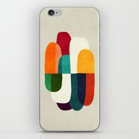 the cure iPhone & iPod Skins featuring The Cure For Sleep by Picomodi