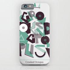 Crooked Typography iPhone 6s Slim Case
