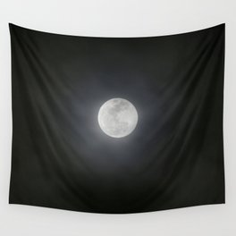 First Full Moon of 2018 Wall Tapestry