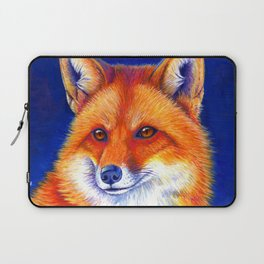 Colorful Red Fox Portrait Laptop Sleeve