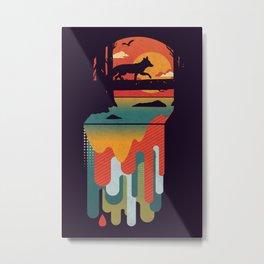 Great Falls Metal Print